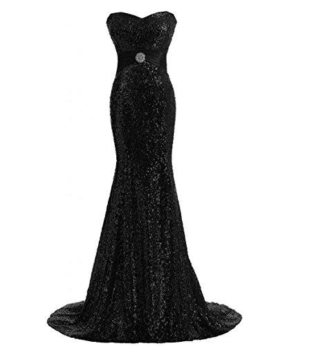 Smaragd Korsett Grünes (Damen Sonderangebot Trägerlos Meerjungfrau Lang Festkleider Hochzeitkleider Abendkleider Abschlussballkleider mit)