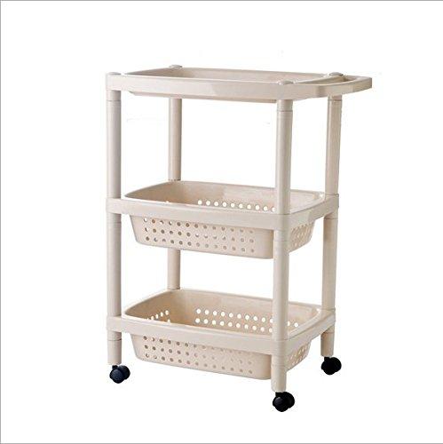 Organisieren Ablage Waschbecken Küche Badezimmer Schlafzimmer Kunststoff regal Multi-tier-Riemenscheiben Decke von Eigentum 3-M Regale Weiß 3 Regal Kunststoff-regal