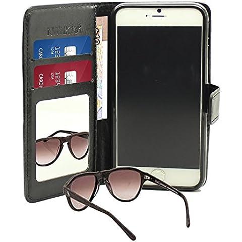 Nwnk13® iPhone 3/4/5/6/5C, colore: nero, Slim, in