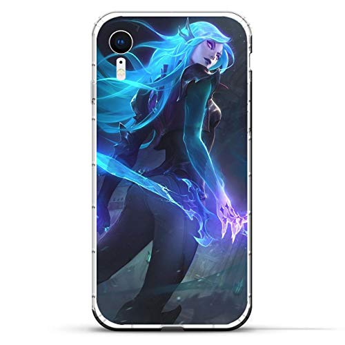 BEMAGIC iPhone XR Case,Flexible Slim Silicone TPU Protector Cover Soft Thin Gel Skin For Apple iPhone XR-Katarina Du Couteau