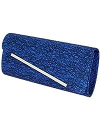 Damara Femmes Sac A Chaussures Sac De Voyage Fermeture Eclair,Bleu