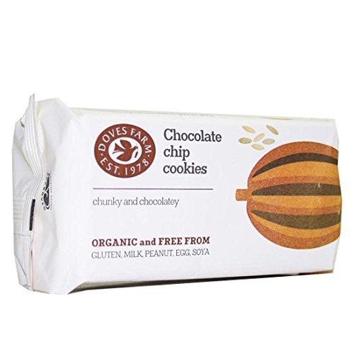 Galletas ecológicas de chocolate DOVES FARM (24 paquetes de 180 gr)