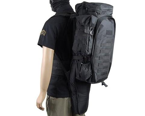 Rucksack Magazintasche Koppeltasche schwarz Milliär taktische Ausrüstung Airsoft Outdoor Klettern