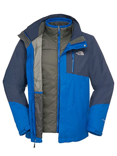 The North Face - M Solaris Triclimate Jacket Nautical Blue/Cosmic Blue