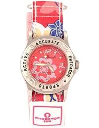 Predator Mädchen-Armbanduhr Analog Formgehäuse rosa PRE84/D