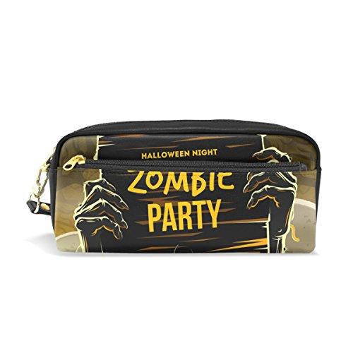 bennigiry Halloween Arme Dead Zombie Party Zip rechteckig groß Stoff Federmäppchen, Schule Make-up (Armee Make-up Halloween Toten)