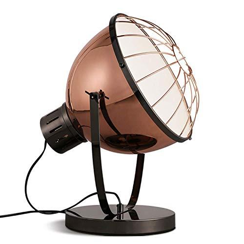 WSXXN Estilo Americano Americano Lámpara de escritorio Iluminación creativa de escritorio LOFT...