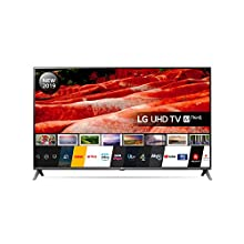 LG 65UM7510PLA 65-Inch UHD 4K HDR Smart LED TV with Freeview Play - Ceramic Black colour (2019 Model)