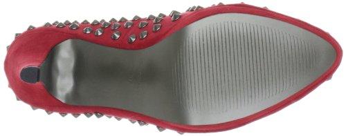 Victoria Delef  12I0607, escarpins classiques femme Rouge - Rot (ROJO)