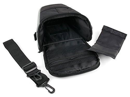 DURAGADGET Robuste Transport-Tasche Multi-Case für Zwei Lexibook Walkie-Talkies für folgende Modell: Violetta (TW41VI) | Star Wars (TW35S) | Schwarz (TW41) Kinder-Funkgeräte und Zubehör