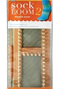 KB Sock Loom 2 Regular Gauge Knitting Board For Worsted Yarn by KB