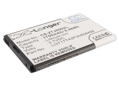 CS Wireless Router Akku,Li-ion 3.7V 1750mAh/6.48Wh passend für [Verizon] Jetpack 890L,Jetpack 890L 4G LTE,Jetpack 4G LTE,Hotspot 890L,[ZTE] U790,Authentic,ersetzt [Verizon] Li3717T42P3h654458,[ZTE] Li3717T42P3h654458