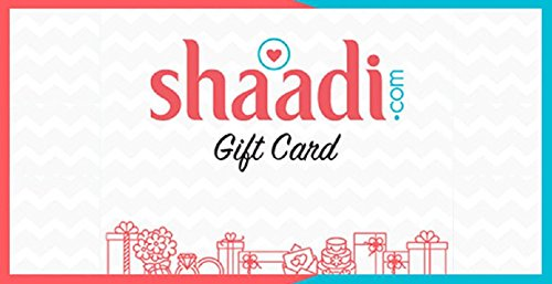 Shaadi com 1 Month Subscription Silver e-Gift Card: Amazon in: Gift