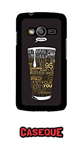 Caseque Shotgun - Beer Back Shell Case Cover For Samsung Galaxy Ace 4