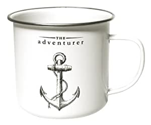 Gift Republic Victoriana Mug en émail Motif The Adventurer