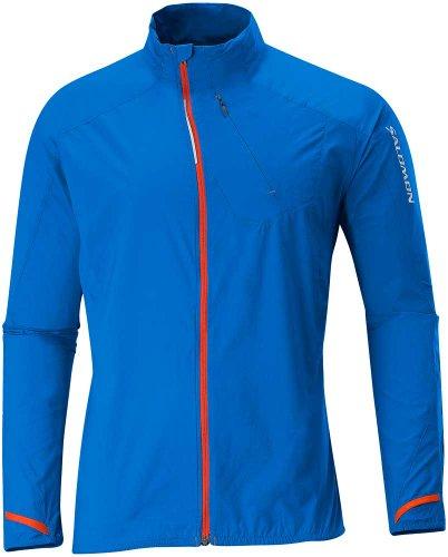 Salomon Herren Fast Wing III Jacket hellblau