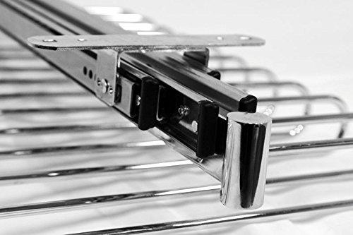 Filinox Zapatero orden 50-80cm extraible armario cromado filinox 82409002