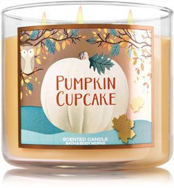 Bath and Body Works Pumpkin Cupcake 3 Wick Candle by Bath and Body Works Fall 2016