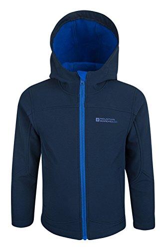 mountain-warehouse-exodus-kids-childrens-boys-girls-softshell-hoodie-lightweight-breathable-top-navy