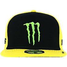 Gorra Ajustable Valentino Rossi Monster Energy Adj Sponsor Amarillo  (Default  a01884220c0