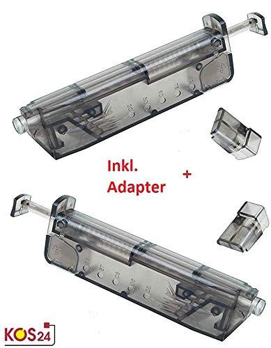 ersal Speedloader mit 2 x Pistolen Adapter für schnelles und sicheres Nachladen der Premium Airsoft 6MM BB Munition - Bio BBS Kugeln ()