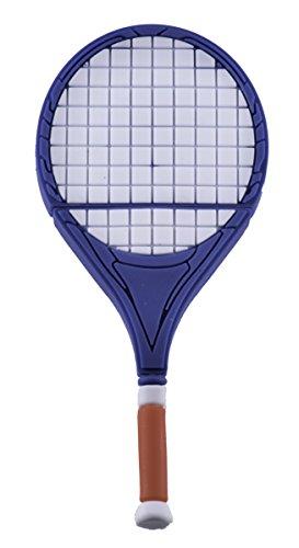 Tennisschläger blau - USB Flash Drive 8 GB - Memory Stick Daten Aufbewahrung - Stick
