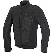 Alpinestars Chaqueta para Moto Color Negro Luc Air, para Verano, XL