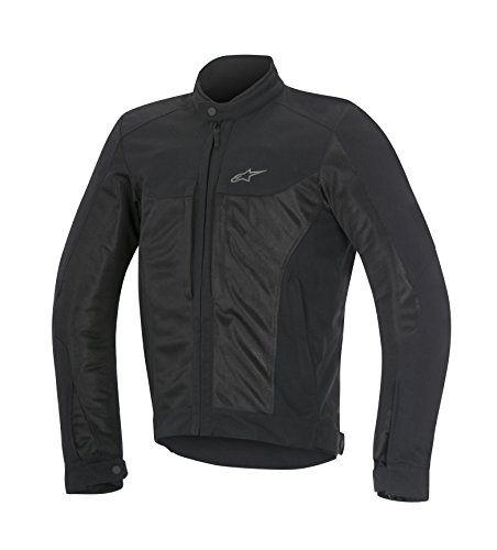 Alpinestars Chaqueta para Moto Color Negro Luc Air