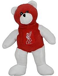 Liverpool FC Official - Peluche con escudo y colores en contraste