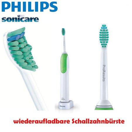 Philips Sonicare HX3110/02 elektrische Schallzahnbürste Elektro-Zahnbürste wiederaufladbar
