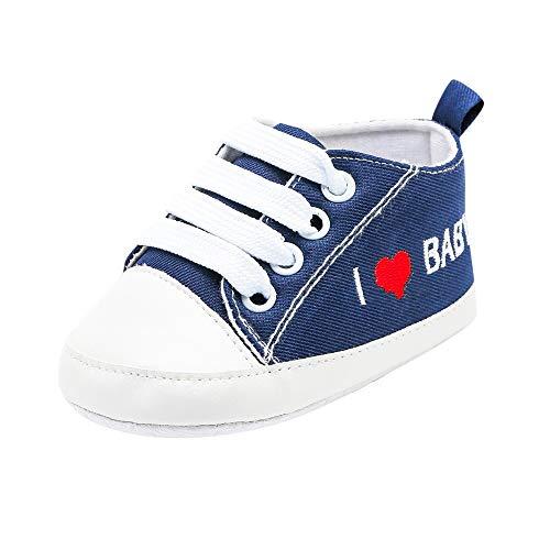 Trunlay Turnschuhe Kleinkind Schuhe Babyschuhe Mädchen Tanzschuhe Ballerinas Leder T-Strap Schuhe Lauflernschuhe Mädchen Krabbelschuhe Streifen-beiläufige Wanderschuhe 0-18 Monate