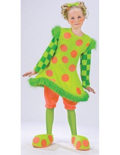Lolli The Clown Costume Large - Clown Lolli Kostüm