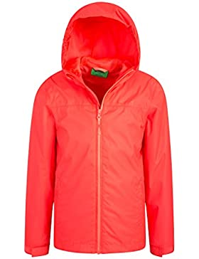 Mountain Warehouse Chaqueta Impermeable Torrent para niños - Chubasquero con Costuras termoselladas, Chaqueta...