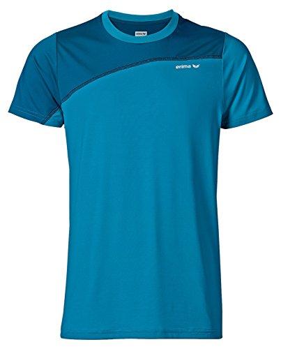 Erima, Green Concept T Shirt Atomic Blue/Mykonos Blue