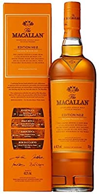 The Macallan Edition No.2 Single Malt Whisky