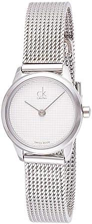 Calvin Klein Womens Quartz Wrist Watch, Analog and Stainless Steel- K3M2312Y