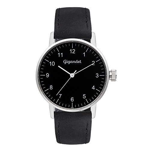 Gigandet Minimalism Women's Analogue Wrist Watch Quartz Silver Black G27-003