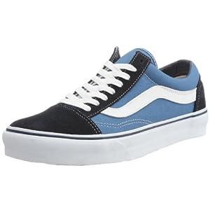 Vans Unisex-Erwachsene Old Skool Sneakers, Colour is Blue (Navy), 41 EU