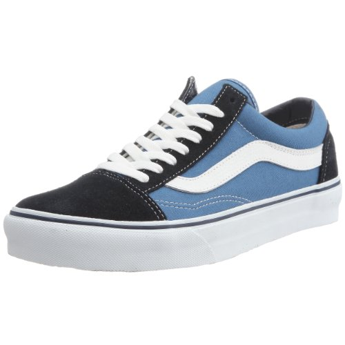 VANS Unisex-Erwachsene Old Skool Sneakers, Colour is Blue (Navy), 41 EU (Top-herren-tennis-schuhe)