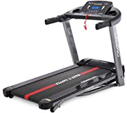 MAXPRO PTM405 2HP(4 HP Peak) Folding Treadmill, Electric Motorized Power Fitness Running Machine with LCD Disp