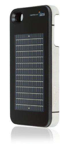 EnerPlex Surfr Schutzhülle Schutzhülle mit Akku Notfall Solar-Ladegerät für iPhone 4/4S