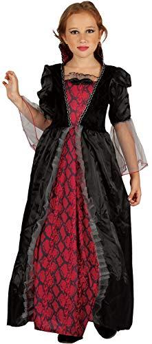 Zubehör Vampir Kostüm Mädchen - U LOOK UGLY TODAY Kinder Kostüm Hexe Vampir Halloween Kleid Karneval Verkleidungsparty Cosplay für Mädchen - S