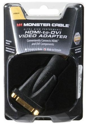 Monster VA HDMI-DVI SL MKII EU High Performance HDMI Männlich Zu Weiblich DVI Video Adapter -