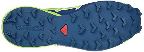 Salomon Speedcross 4 Gtx Si, Scarpe da Trail Running Uomo Verde (Classic Green/lime Green/poseidon Classic Green/lime Green/poseidon)