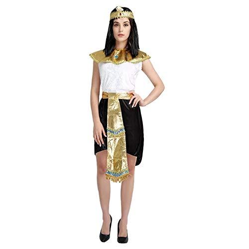 Aphrodite Kostüm Frauen - thematys Cleopatra Aphrodite Göttin Kostüm-Set für Damen - perfekt für Fasching, Karneval & Cosplay - Einheitsgröße 160-180cm