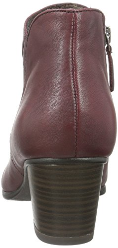 Tamaris 25016, Bottes Classiques Femme Rouge (Merlot 537)