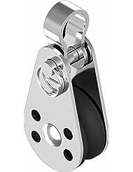 Bloque mini bloque de polea de inversión con un mango de acero inoxidable 57 mm ARBO-INOX