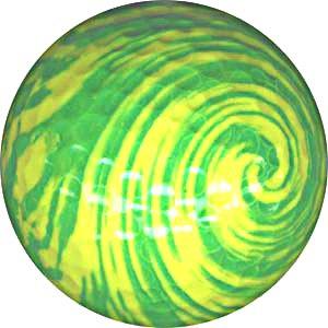 Générique Balle de Golf sur Le thème des tourbillons Jaunes.