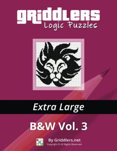 Griddlers Logic Puzzles: Extra Large: Volume 3