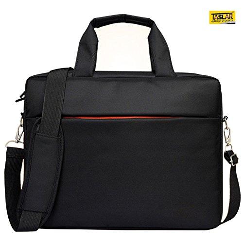 TASLAR 15.6 inch, 15-15.6 inch Laptop Sleeve Shoulder Bag (Black)